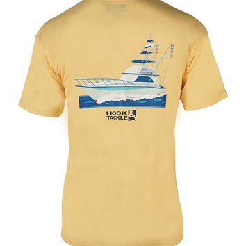Men's Reel Southern Fishing Boat T-Shirt