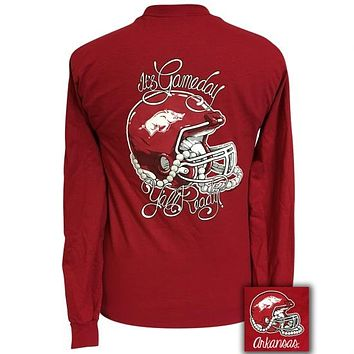 Arkansas Razorbacks Hogs Its Gameday Yall Ready Long Sleeve T-Shirt
