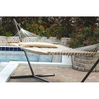 Smart Garden Monte Carlo Premium Poly Two Person Fabric Quilted Hammock