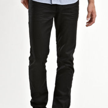 Bullhead Denim Co Dillon Skinny Coated Black 2 Jeans at PacSun.com