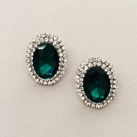 Anastasia Emerald Earrings