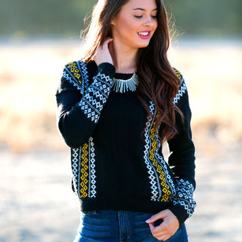 Dawson Fair Isle Sweater