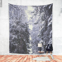 Freezing rastafaris Wall tapestry