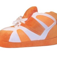 Happy Feet - Orange and White - Slippers
