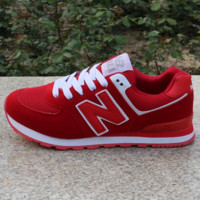 Women Men Casual Running NEW BALANCE Sport Shoes Sneakers Red