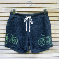 bespoke Bicycle Shorts in Charcoal SMLXL by nicandthenewfie