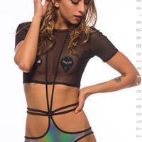 Untamed Strappy Bottoms in Technologik