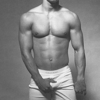 Marky Mark Wahlberg 27x40 BANNER Calvin Klein ADs vinyl poster repro sexy nude A