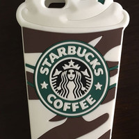 Starbucks Coffee Cup Silicone Phone Case for iPhone 5 5s 6 6s