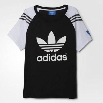 adidas Planetary Power Logo Tee - Black | adidas US