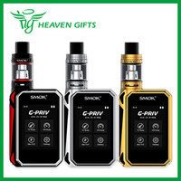 Smok G-Priv Touch Screen 200W Kit w/ Gpriv Box Mod 220W + Smok TFV8 Big Baby Tank