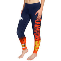 Denver Broncos  Official NFL Super Bowl 50 Champions Gradient Leggings