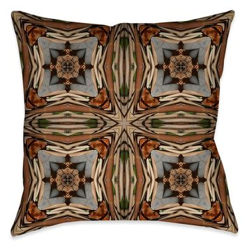 Bamboo Nodes Indoor Decorative Pillow
