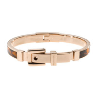 Michael Kors Tortoise Buckle Bangle, Rose Golden