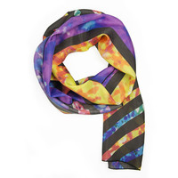 Geometry Silk Scarf