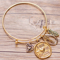 Keep Going Bracelet - Gold