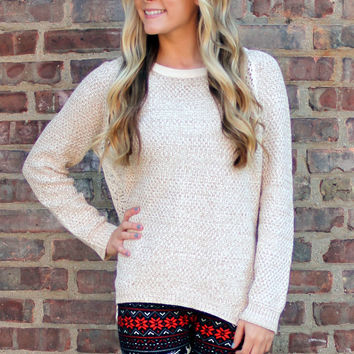 Cozy Morning Knit Sweater