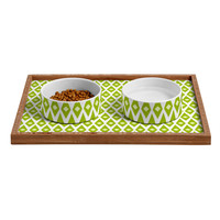 Caroline Okun Gatsby Pet Bowl and Tray