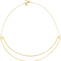 Maria Black - Love Bite gold-plated necklace