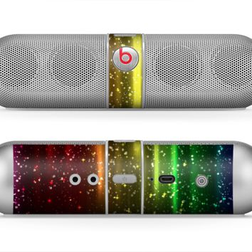 The Neon Glowing Rain Skin for the Beats by Dre Pill Bluetooth Speaker