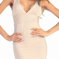 Rose Bandage Dress