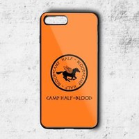 Top Camp Half Blood Training Logo Case For iPhone 6 6s 7 8 Plus Samsung Cover +