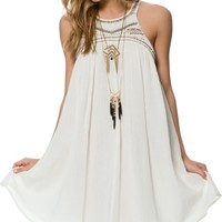 BILLABONG FOREVER SAND BABY DOLL DRESS