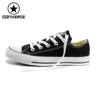 Original New Arrival Converse Low top classic Canvas skateboarding shoes Unisex sneakser