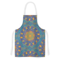 "Miranda Mol ""Prismatic Orange"" Orange Blue Abstract Artistic Apron"