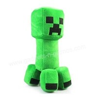 Minecraft Creeper Plush Toy Doll Soft Toys Stuffed Animal 29cm Your's Pet