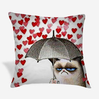 Grumpy Cat Pillow Case