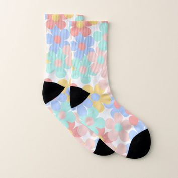 Pretty Flowers Socks