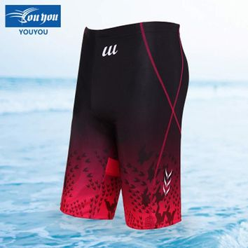 NuLL 2018 Summer Men's Swimming Trunks For Swimming Outdoor Waterproof Quick Dry Jammers Swimwear Surfing Beach Swim Suits MD017