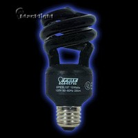 FTBPESL13T-BLB - Feit Electric 13 Watt Compact Fluorescent Blacklight Twist Bulb
