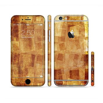 The Oranged Patch Layers Vintage Sectioned Skin Series for the Apple iPhone 6