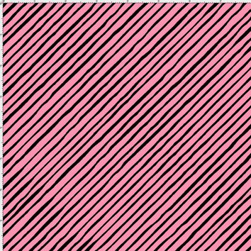 Sorta Stripe Bias Pink / Black Fabric