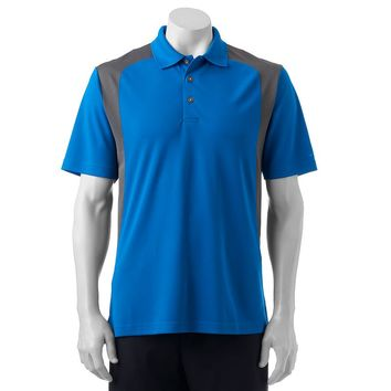 Grand Slam Colorblock Classic-Fit Airflow Performance Polo