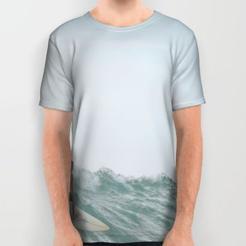 morning surf All Over Print Shirt by RichCaspian