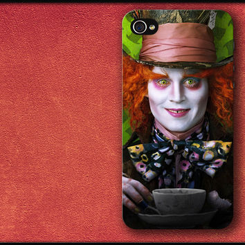 Alice in Wonderland (Johnny Depp) Phone Case iPhone Cover