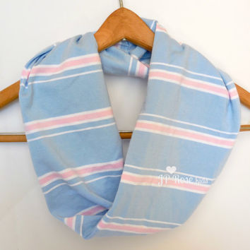 Mommy and Me Scarves, Gender Reveal Party, Light Blue and Pink, Mother's Day Gift, Baby Shower Gift, Father's Day Gift, Gender Neutral