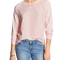 Banana Republic Womens Factory Raglan Pullover