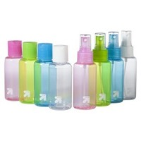 up&up™ Travel Bottles (with assorted tops) - 3.0 oz