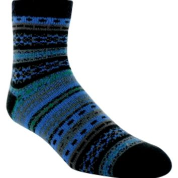 Yaktrax Men's Cozy Cabin Nortic Crew Sock | DICK'S Sporting Goods