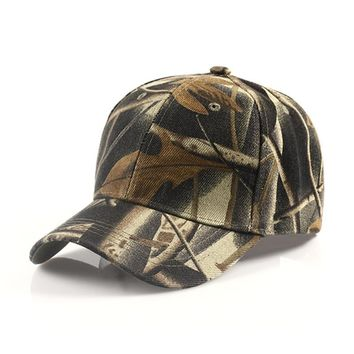 2017 Camouflage Hats For Men Women Cotton Camo Baseball Cap Outdoor Climbing Hunting Camo Hats Army Camo Snapback Dad Cap