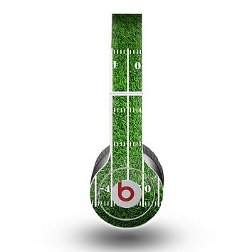 The Green Turf Football Field Skin for the Beats by Dre Original Solo-Solo HD Headphones