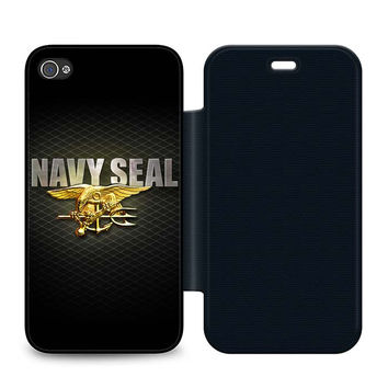Navy SEAL Log Flip iPhone 4 | 4S Case