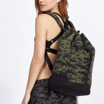 Camo Kimura Backpack in Camo by The Upside | New Arrivals | BANDIER