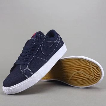 Nike Sb Blazer Zoom Low Women Men Fashion Casual Low-Top Old Skool Shoes-1