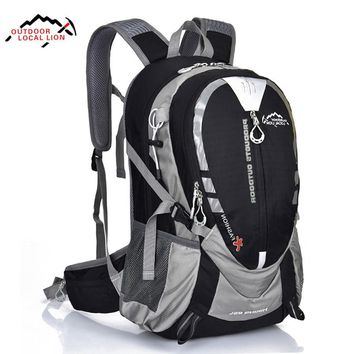 LOCAL LION 25L Waterproof Hiking Backpack Nylon Cycling Travel Backpack Outdoor Sport Climbing Bag 5 Colors