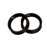 Kaos Softwear Black Earskin Plugs 2 Pack